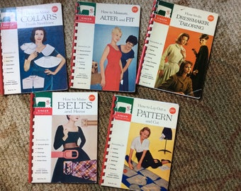 Vintage Singer Sewing Library Booklets
