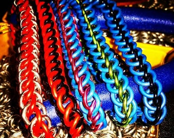Stretchy Chainmaille Bracelets