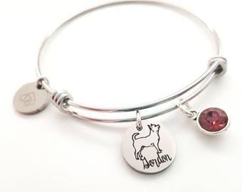 Pet Bracelet - Pet Lover Gift - Pet Memorial Bracelet - Dog Bracelet - Cat Lover Gift - Dog Lover Gift - Dog Bracelet - Chihuahua Bracelet