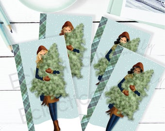 Planner Dashboard Christmas Pine | Personal Size Planner Dashboard | Planner  Accessories | Planner Dividers | K020 Dash