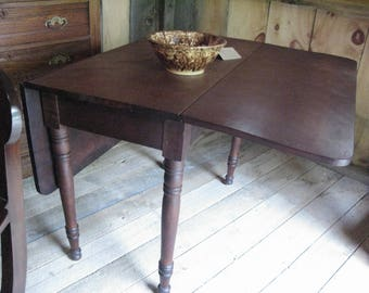 excellent early cherry drop leaf table