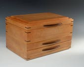 Cherry Jewelry Box with 2...