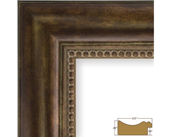 Craig Frames 12x18 Inch Antique Bronze Ornate Picture