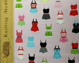 Swimsuits (Pink) - Fabric
