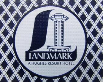 Howard Hughes Landmark Resort Hotel Casino Las Vegas Playing Cards Bee 92