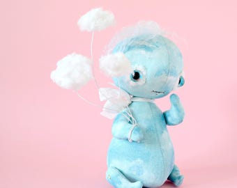 Cloud Catcher whimsical art doll fantasy creatures