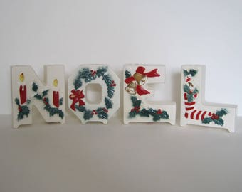 Vintage Lipper and Mann Noel Letters