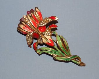 Vintage Tulip Pin