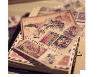 Scrapbook DIY Deco Sticker - Retro Childhood