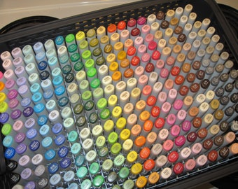 Copic Marker Storage Box Holds & Organizes 300 Sketch (NO Markers Included)