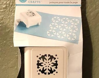 snowflake template martha stewart - martha stewart snowflake punch etsy