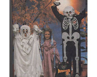 McCalls Pattern 2743 Halloween Ghost  Devil Skeleton Princess Witch