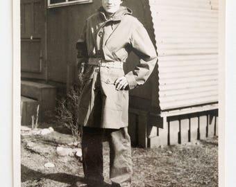 Original Vintage Photograph | Serviceman