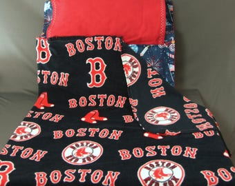BOY'S NAP MAT - Back to School - Toddler - Boston Red Sox - Patriotic