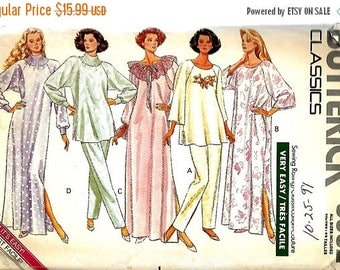 ON SALE Butterick 3032 Very Easy Misses Caftan, Top And Pants Pattern, Size XS-Xl, Uncut