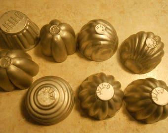 vintage Jello marked tins