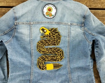 Limited Run Quetzalcoatl Iron On Back Patch