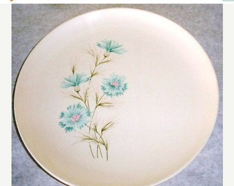 ON SALE Vintage Taylor Smith & Taylor Boutonniere 1962 set of 5 Dinner Plate Made in the USA Every Yours China Plate