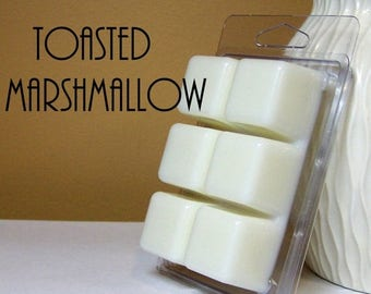ON SALE - Toasted Marshmallow Scented Wax Cube