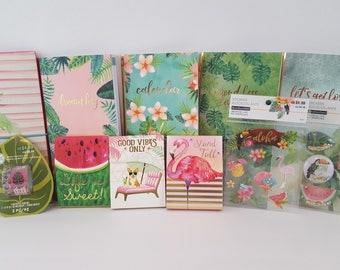 Recollections Tropical Life Journal Sticker Notebook Collection and more B