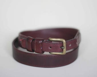 vintage coach belt size 32