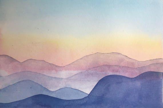 Blueridge Mountain No. 1