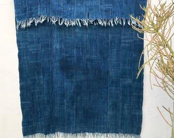 Vintage African Textile   Indigo Cloth Tribal Fabric African Fabric African Indigo Fabric Indigo Fabric Beach Blanket Ethnic Fabric #92