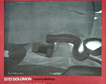 Syd Solomon-Hokin Gallery-1972 Poster
