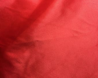 red satin fabric bty FREE SHIPPING