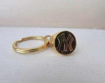 2001 NY Yankees Intial Ring/Keyring Ring