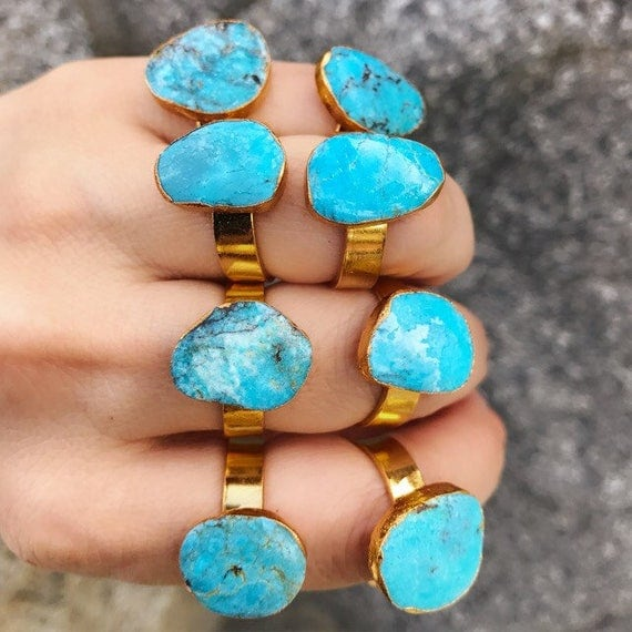Turquoise Rings, turquoise jewelry