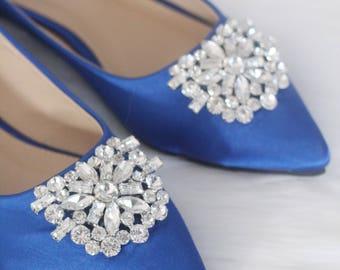 Blue wedding shoes | Etsy