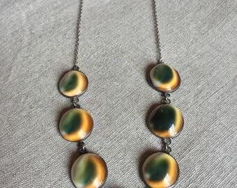 Cat eye shell necklace