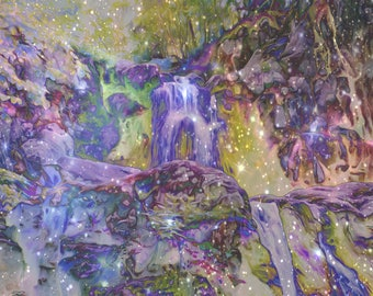 "Waterfalls Shenandoah ""Guard Your Heart"" Fantasy Fairies Dreams Surreal Art Nature Photography  Mystical Magic Camping"