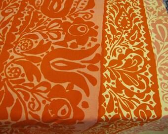 1960 Marimekko Maija Isola Ataman Oy Sudmi-Finland Fabric Piece, Marimekko, Maija Isola Design, Ataman, 1960, Finnish Fabric, Modern Fabric