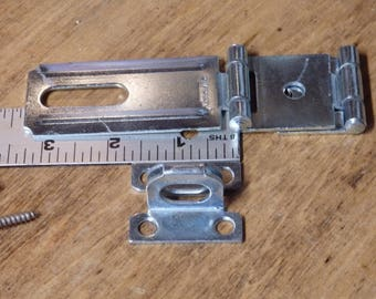 Double Hinged Heavy Duty Safety Hasp