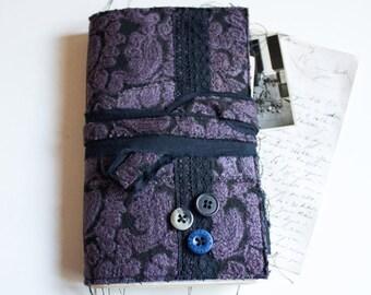 Bohemian Junk Journal, Junk Journal, Writing Journal, Altered Book, Travel Journal, Vintage Journal, Memory Journal