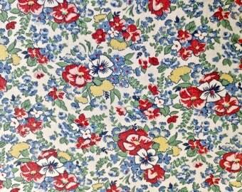 Floral Print Full Vintage Feedsack