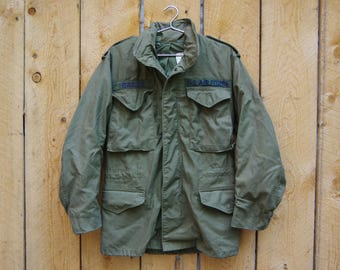Vintage 80s M-65 Military Cold Weather Field Jacket Extra-Small | Alpha Industries