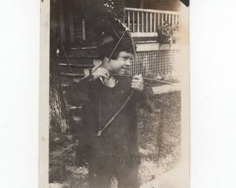 "Vintage Snapshot Photo: ""5 Years Old Today"" [81647]"