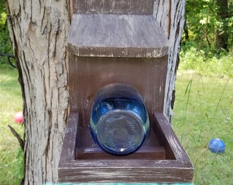 Rustic Squirrel Feeder