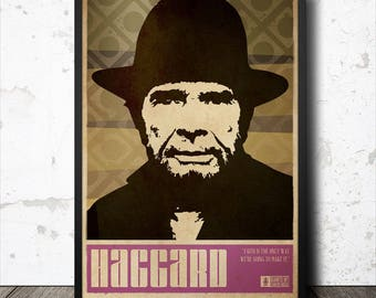 Merle Haggard Country Music Poster