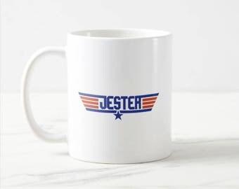 Jester Top Gun Coffee Mug hs0309