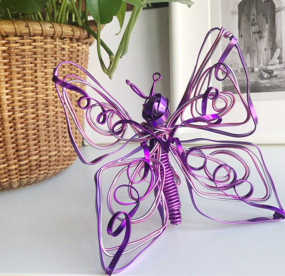 Wire Sculpture Butterfly