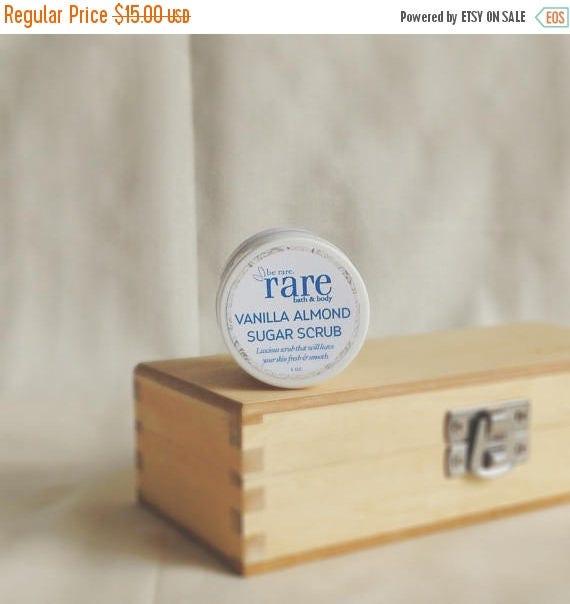 On Sale Sugar Body Scrub Sampler Set - Try All 5 Scents - Travel Size Gentle Sugar Exfoliating Body Scrub
