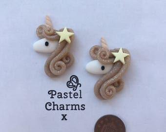 small glitter star unicorn