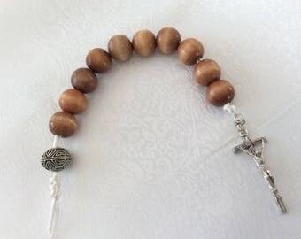 Chemnitz Style Lord's Prayer 10 Bead Paternoster Christian Prayer Beads