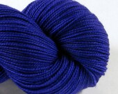 Hand Dyed Sock Yarn - Freddy Helix - Peggy's Purple