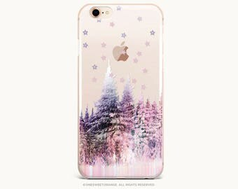 Christmas iPhone 8 Case iPhone X Case iPhone 7 Case Forest GRIP Rubber Case iPhone 7 Plus Clear Case iPhone SE Case Samsung S8 Case U318