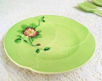 "Leaf Shaped  Side Plate ""Wild Rose"" Carlton Ware, Australian Design, F"